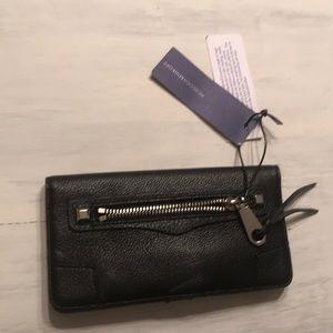 Rebecca Minkoff Regan Blk Leather Wallet